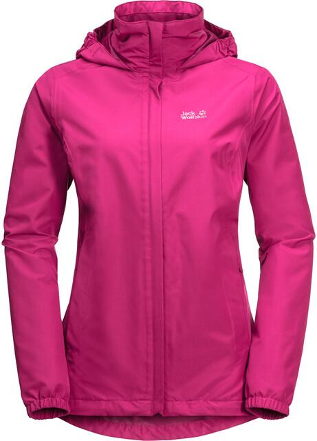 Jack Wolfskin Stormy Point Jacket Damen pink peony